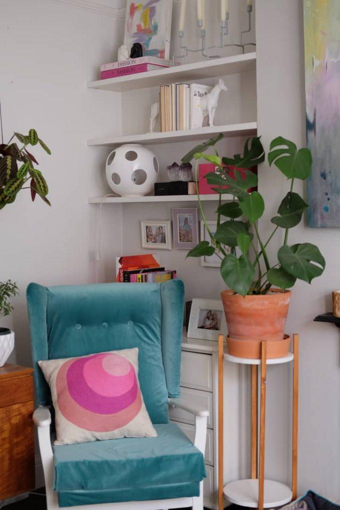 ایجاد قفسه روی دیوار