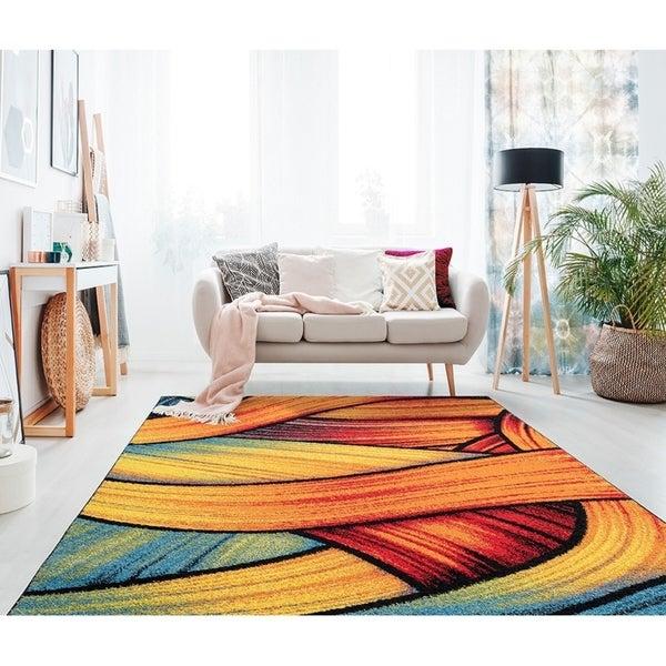 استفاده از فرش های چند رنگ